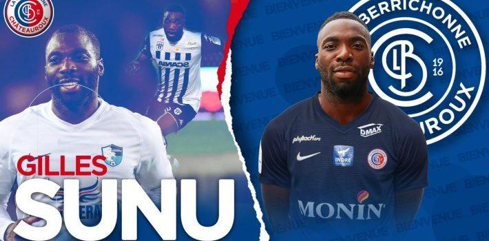 Transfert Gilles Sunu