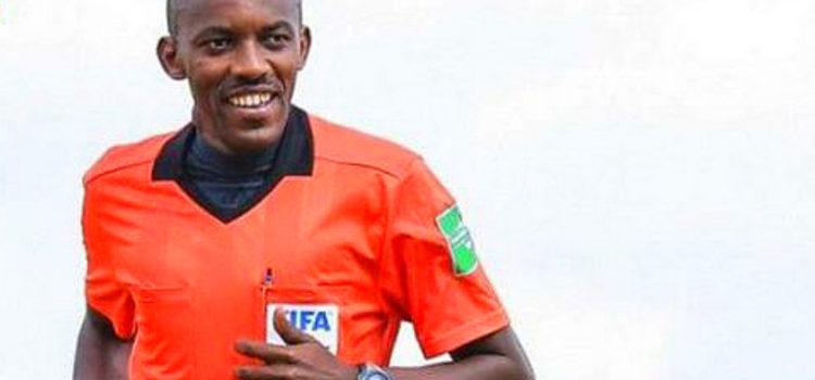 Arbitre rwandais Louis Hakizimana