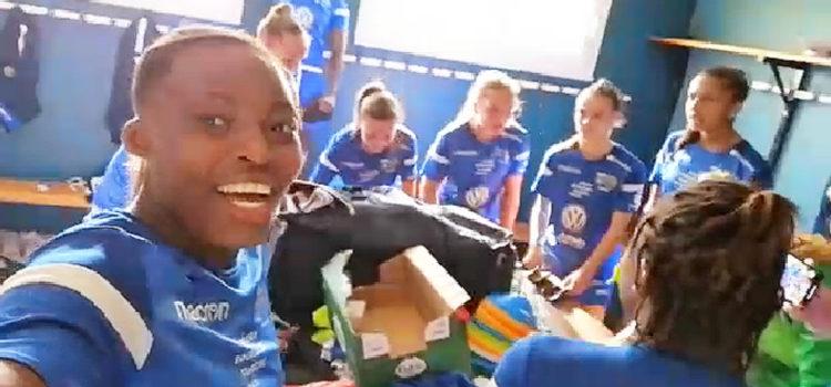 Woedikou Mafille avec l'AJ Auxerre